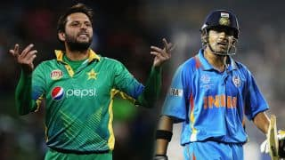 Gambhir not the friendliest from IND, states Afridi