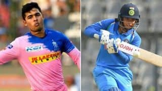 Youngster Riyan Parag reveals Smriti Mandhana is his inspiration