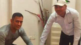 Dhoni's Aadhar Card information leaked; Sakshi complains to RS Prasad