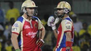 Virat Kohli, AB de Villiers bring up 4th 100-run stand for RCB in IPL 2016