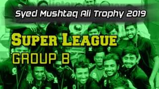 Syed Mushtaq Ali 2019, Super League: Karnataka thrash Mumbai by nine wickets