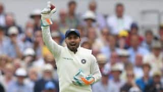 India vs England, 3rd Test: Rishabh Pant becomes first Indian wicketkeeper to five dismissals in debut innings