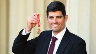 Don't think I will ever get used to seeing my name with a Sir before it: Alastair Cook