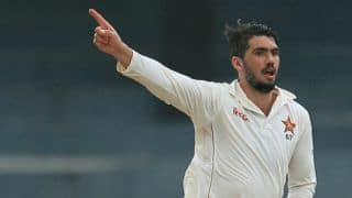 Graeme Cremer keeps Zimbabwe's hopes alive on Day 2 of 2nd Test vs West Indies