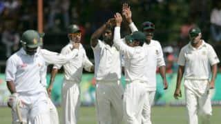 Bangladesh vs Zimbabwe 2014: Bangladesh 62 for four in pursuit of 101 at tea