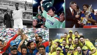 Video: From 1975 to 2015, teams with most World Cup titles