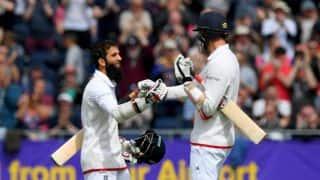Moeen Ali's century puts England in commanding position