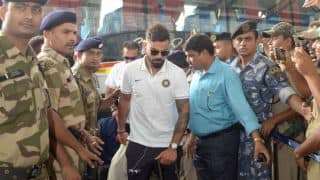 India, Australia arrive in Indore for 3rd ODI