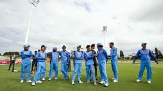 अंडर-19 विश्व कप 2018, सेमीफाइनल: भारतीय टीम ने पाकिस्तान के सामने जीत के लिए 273 रनों का लक्ष्य रखा