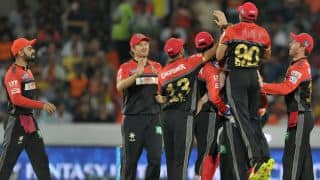RCB vs SRH, Live Cricket Score Updates & Ball by Ball commentary, IPL 2016: Final at Bengaluru