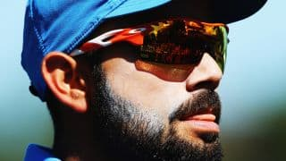 Virat Kohli, Varun Aaron look dashing in sun glasses while travelling in Sri Lanka
