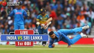 Live Cricket Score, India vs Sri Lanka, 1st ODI at Dambulla