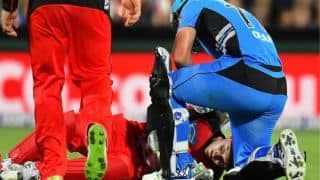 Peter Nevill to get further medical assistance post blow on face in BBL