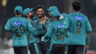 पहले टी20 मैच में पाकिस्तान का दबदबा, वर्ल्ड इलेवन को 20 रनों से धोया