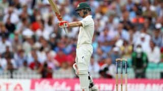 David Warner steers Australia to 184 for 2 at Tea on first day of 5th Test at The Oval