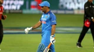 Trent Boult delivered an absolute beauty to clean bowled Mahendra Singh Dhoni