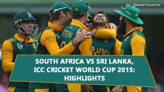 Video Highlights: South Africa vs Sri Lanka Quarter-Final full match