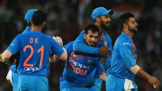 Yuzvendra Chahal's brilliance overshadows Sabbir Rahman; India need 167 to win Nidahas Trophy 2018 Final against Bangladesh