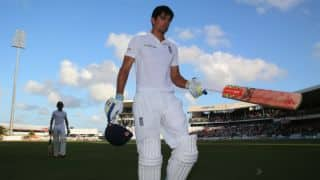 England finish on 240/7 at stumps on Day 1 in 3rd Test against West Indies at Barbados
