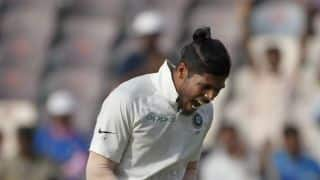 Umesh Yadav becomes 1st Indian pacer to take a six-wicket Test haul at home after Javagal Srinath