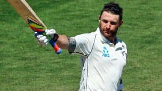 Brendon McCullum's triple ton helps New Zealand draw 2nd Test against India; win series 1-0
