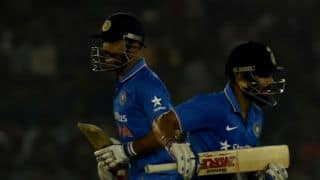 Dhoni's 9,000 ODI runs, most sixes as captains & other interesting numbers from the IND-NZ 3rd ODI at Mohali