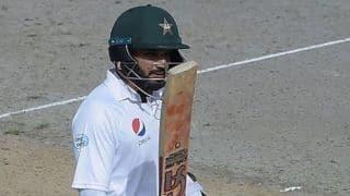 दुबई टेस्ट: हैरिस सोहेल और अजहर अली का अर्धशतक, पाकिस्तान 207/4