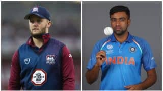 Ben Duckett takes a dig at R Ashwin following his move to Worcestershire