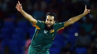 Imran Tahir, Hashim Amla star as South Africa rout West Indies by 139 runs in Match 6 of Tri-Nation series