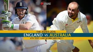 Live Cricket Scorecard: England vs Australia, The Ashes 2015, 4th Test at Trent Bridge, Day 1