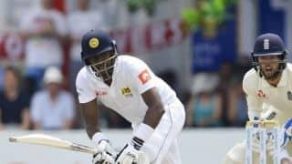 1st Test, Day 2: Mathews leads Sri Lanka fightback at tea