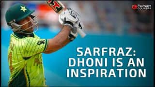 MS Dhoni is an inspiration and I have the utmost respect and admiration for him, says Sarfraz Ahmed