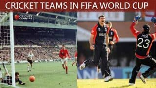 FIFA World Cup teams in cricket World Cup