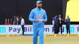Rohit Sharma: Walking out with the team sheet was a feeling of its own
