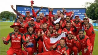 Ireland vs Oman, Group A Round 1, ICC World T20 2016, Match 4 at Dharamsala: Aamer Ali's 32, Zeshan Maqsood's 38 and other highlights