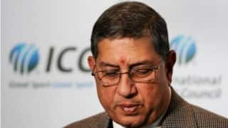 Australia (AUS) vs New Zealand (NZ), ICC Cricket World Cup 2015 Final: N Srinivasan to present winners trophy