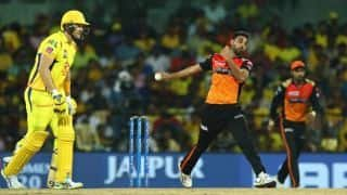 CSK vs SRH Latest Updates: Chennai Super Kings make up for slow start to post 49/1 in Powerplay overs
