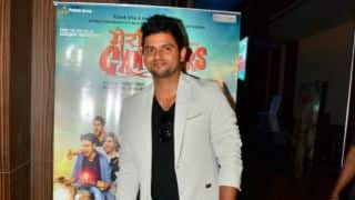Suresh Raina at 'Meeruthiya Gangsters' music launch