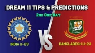 IN-U23 vs BN-U23 Dream11 Team India U-23 vs Bangladesh U-23, 2nd One-Day– Cricket Prediction Tips For Today's match at Lucknow