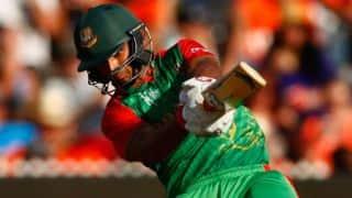 Bangladesh bring up 50 against India in quarter-final