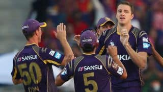 Kolkata Knight Riders victory celebrations after IPL 7 triumph