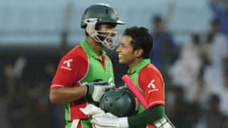Tamim Iqbal and Mushfiqur Rahim share century partnership for Bangladesh vs Pakistan 1st ODI at Dhaka