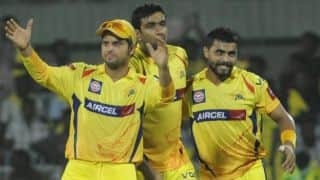 Chennai Super Kings retain MS Dhoni, Suresh Raina, Ravindra Jadeja, R Ashwin and Dwayne Bravo for IPL 7