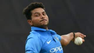 VIDEO: Kuldeep Yadav had another hat-trick before the India-Australia ODI
