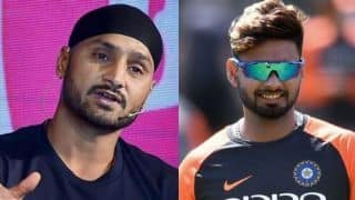 India vs Australia ODIs: Chance for Pant to cement his place in World Cup squad: Harbhajan