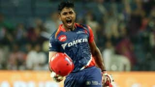 IPL 2017: Sanju Samson's maiden century helps Delhi Daredevils (DD) thrash Rising Pune Supergiant (RPS) by 97 runs in match 9