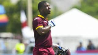 Evin Lewis wastes first ever DRS in Indian T20 League