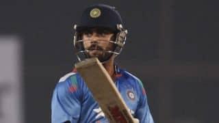 Dravid: India are overly reliant on Kohli
