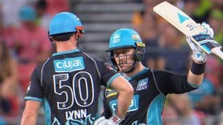 BBL: McCullum, Lynn fire for Brisbane Heat in truncated affair