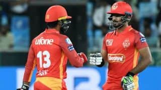 Islamabad United beat Lahore Qalandars in PSL 2019 opener